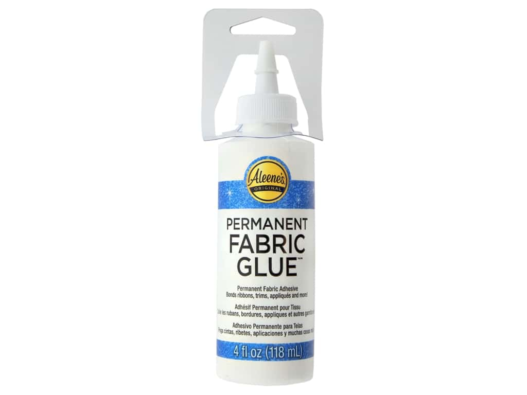 Aleene's Permanent Fabric Glue 4 oz.