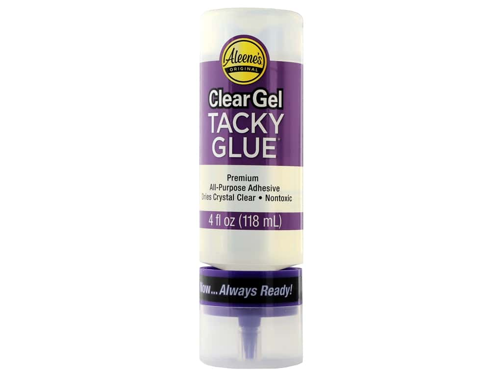 Aleene's Always Ready Clear Gel Tacky Glue 4 oz.