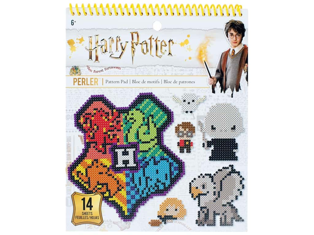 Perler Fused Bead Books Pattern Pad Warner Bros Harry Potter
