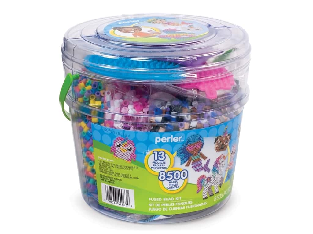 Perler Fused Bead Kit Bucket Believe In Magic 8500pc