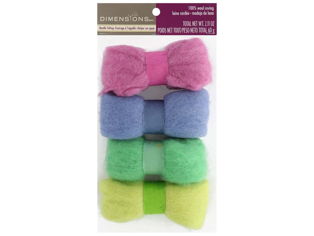 Dimensions 100% Wool Roving Quad Meadow