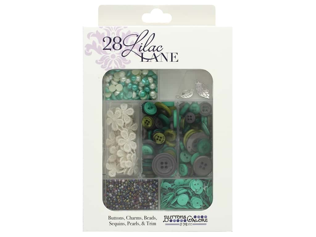 Buttons Galore 28 Lilac Lane Embellishment Kit Sweater Weather