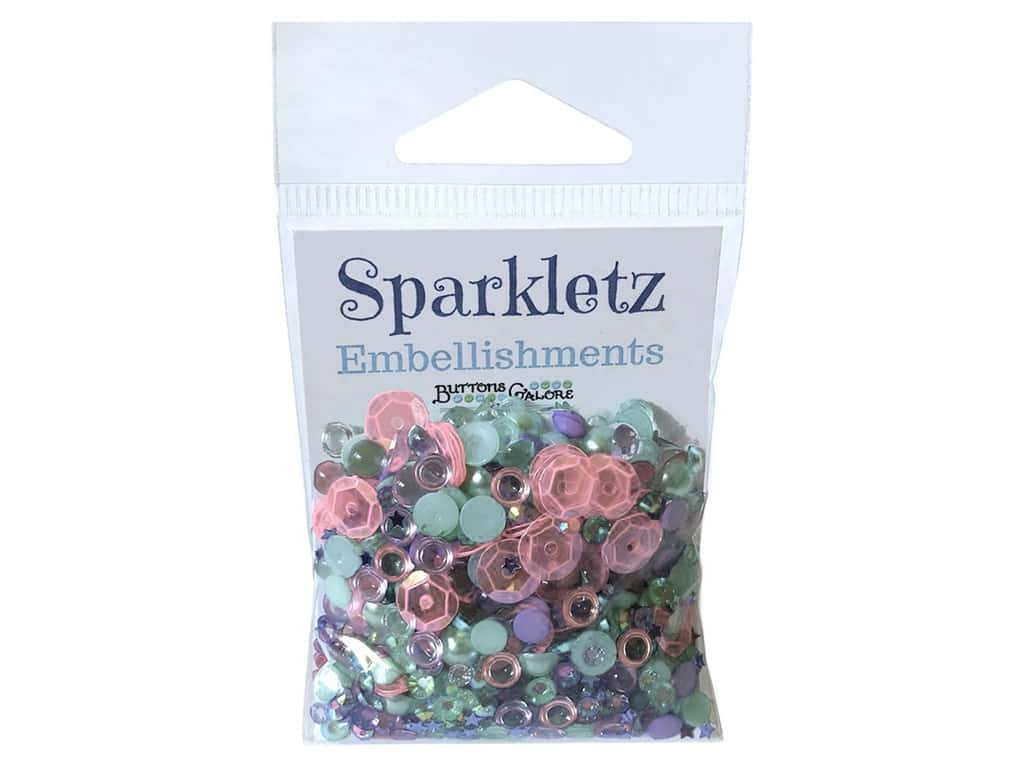 Buttons Galore Sparkletz - Mermaid (3 sets)