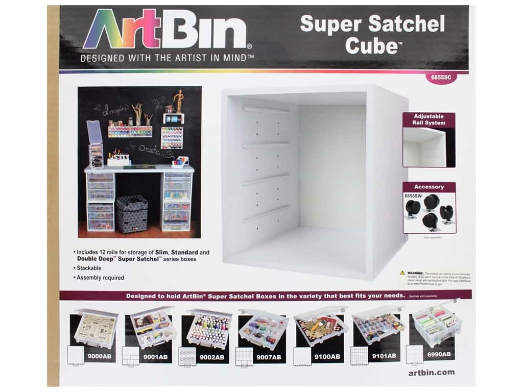 ArtBin Super Satchel Cube