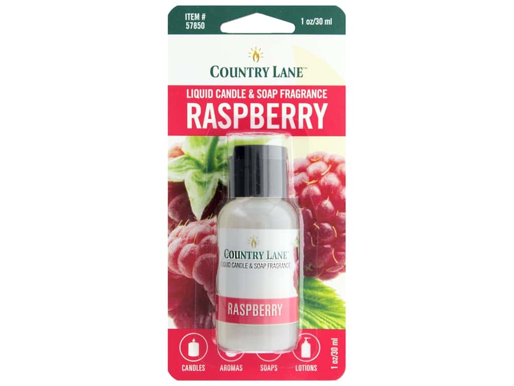 Country Lane Liquid Candle & Soap Fragrance Raspberry 1 oz