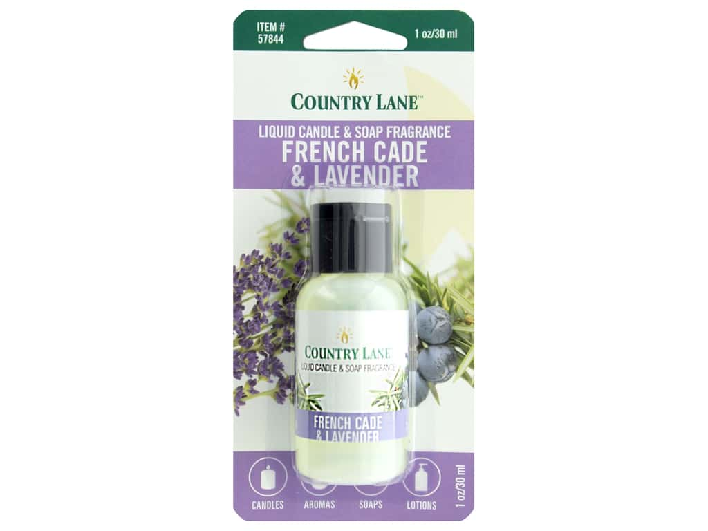 Country Lane Liquid Candle & Soap Fragrance French Cade & Lavender 1 oz