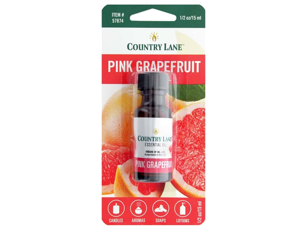 Country Lane Essential Oils Pink Grapefruit .5 oz
