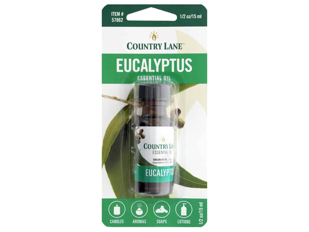 Country Lane Essential Oils Eucalyptus .5 oz