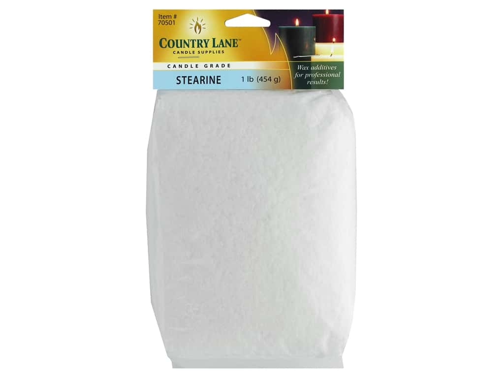 Country Lane Candle Additives Stearine Bag 1 lb