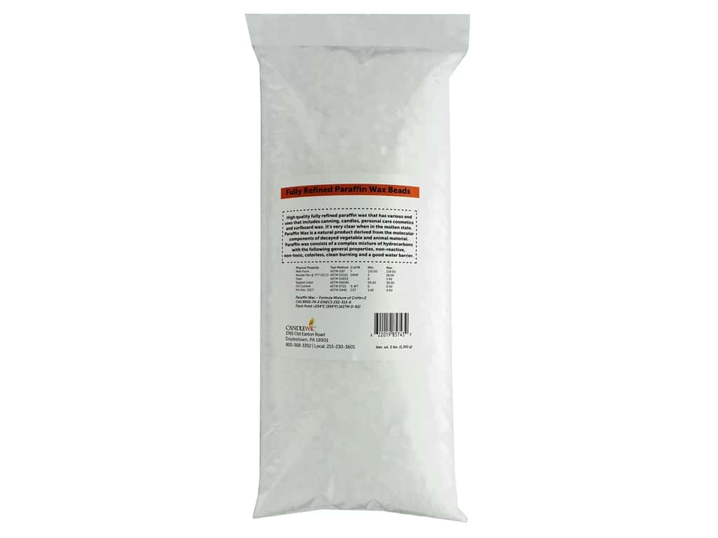 Country Lane Wax Fully Refined Paraffin Wax Beads 3lb