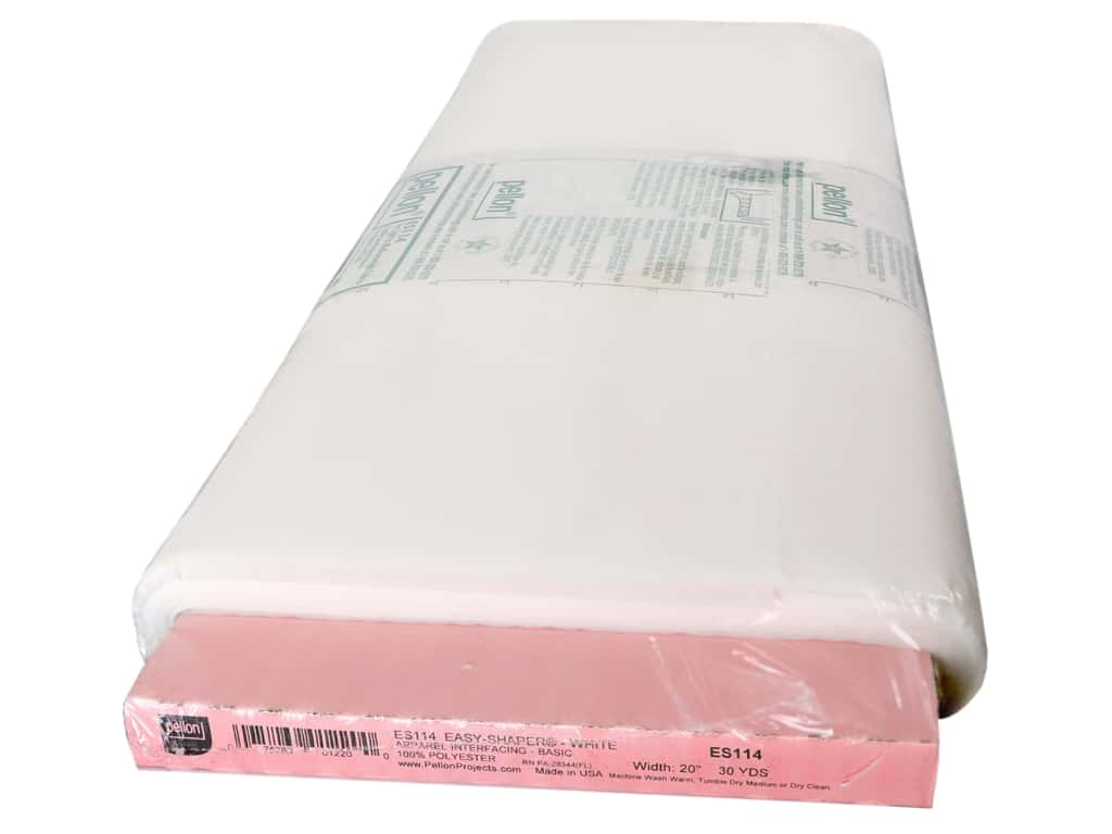 "Pellon Interfacing Easy Shaper Fusible 20""x 30yd White (30 yards)"