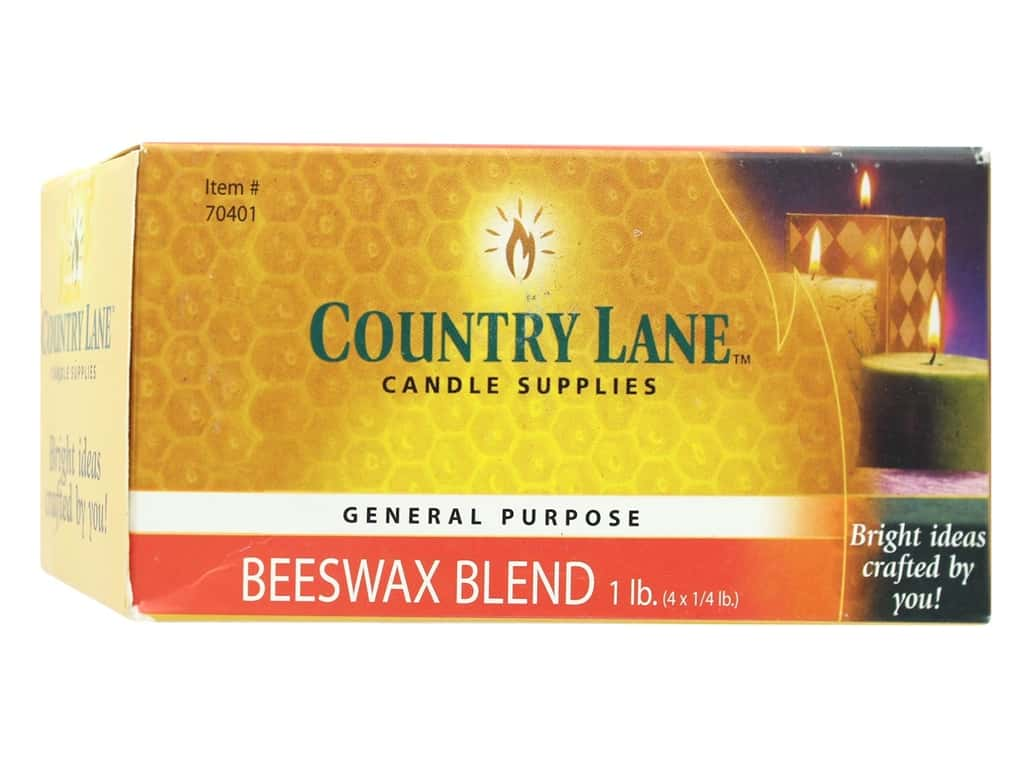 Country Lane Wax General Purpose Beeswax Blend 1 lb