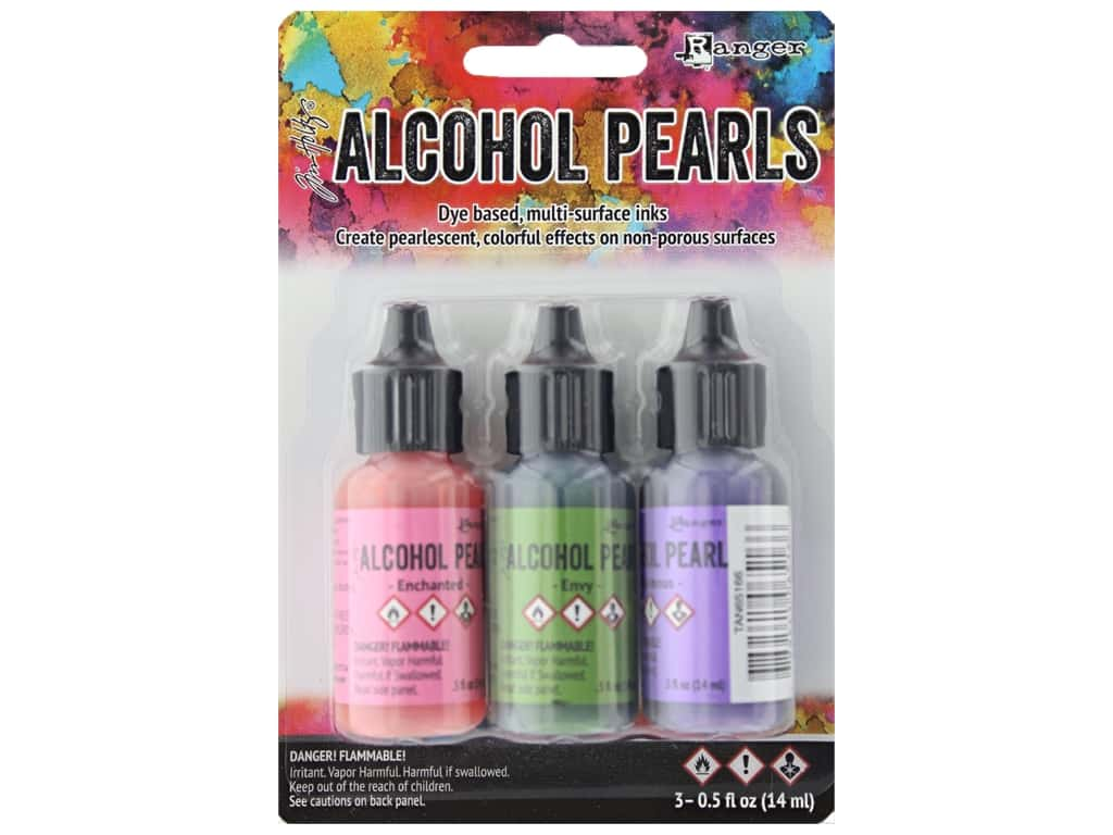 Ranger Tim Holtz Alcohol Ink Pearls Kit #3