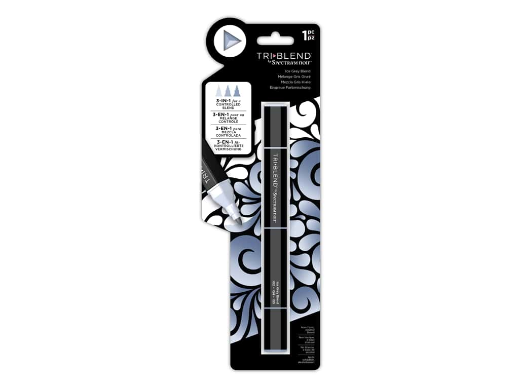 Crafter's Companion Spectrum Noir Tri Blend Marker Ice Grey