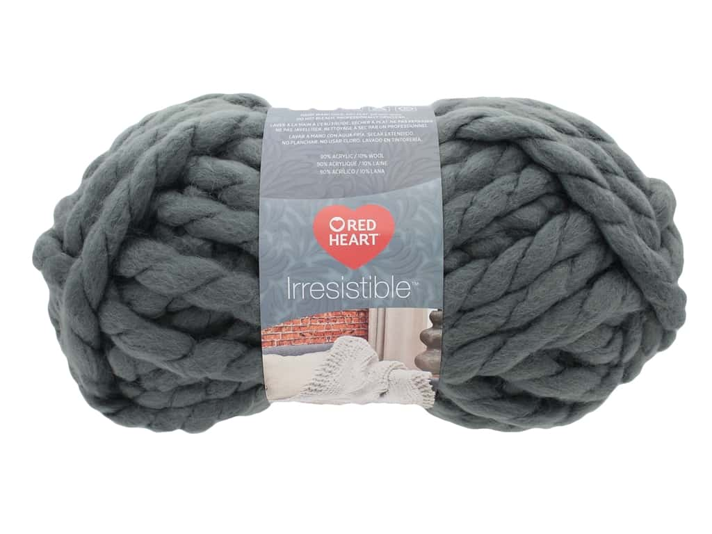 Coats & Clark Red Heart Irresistible 10oz Grey