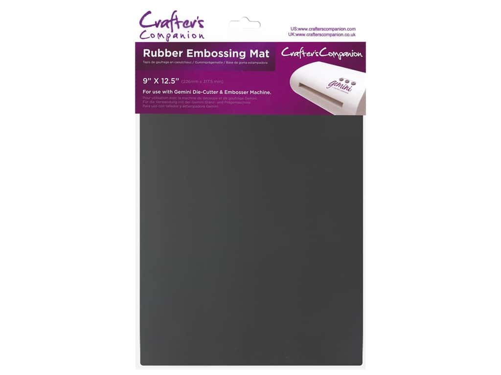 Crafter's Companion Gemini Rubber Embossing Mat