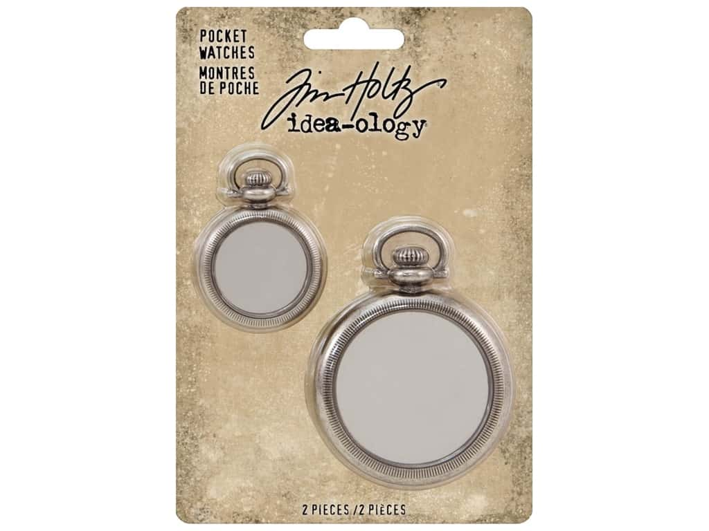 Tim Holtz Idea-ology Pocket Watches