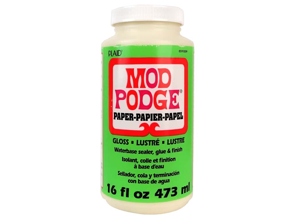 Plaid Mod Podge Paper 16 oz. Gloss