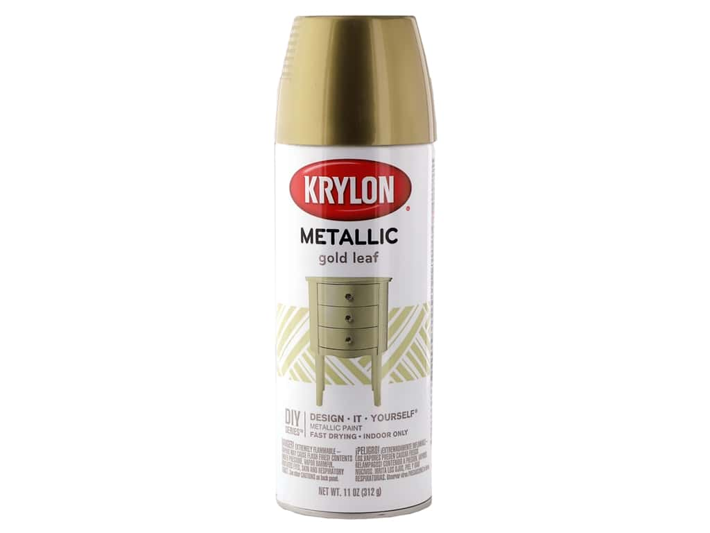 Krylon Metallic Finish Gold Leaf 12 oz