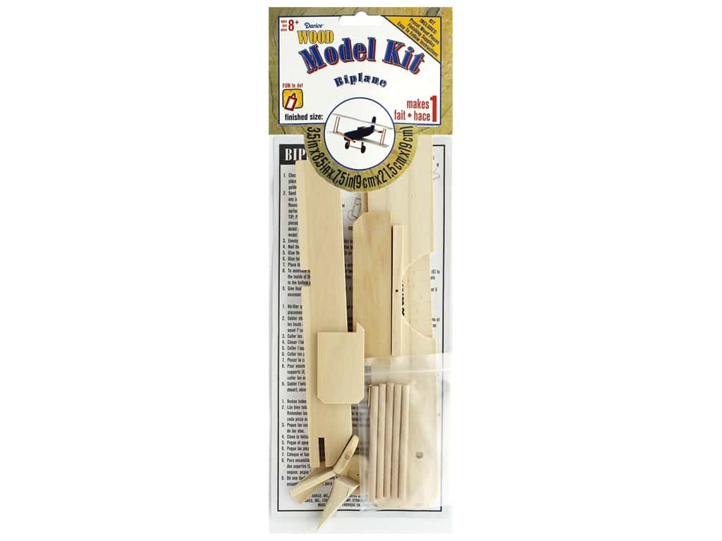 Darice Kit Model Kit Bi Plane