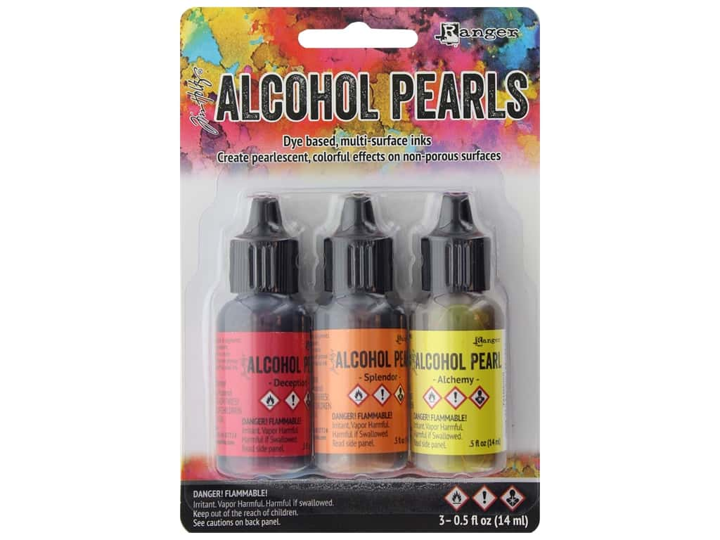 Ranger Tim Holtz Alcohol Ink Pearls Kit #1