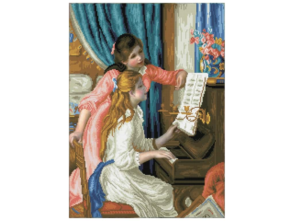 Diamond Dotz Advanced Kit - Girls At The Piano (Renoir)