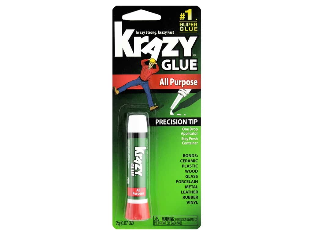 All Purpose Krazy Glue 2 gm. Tube