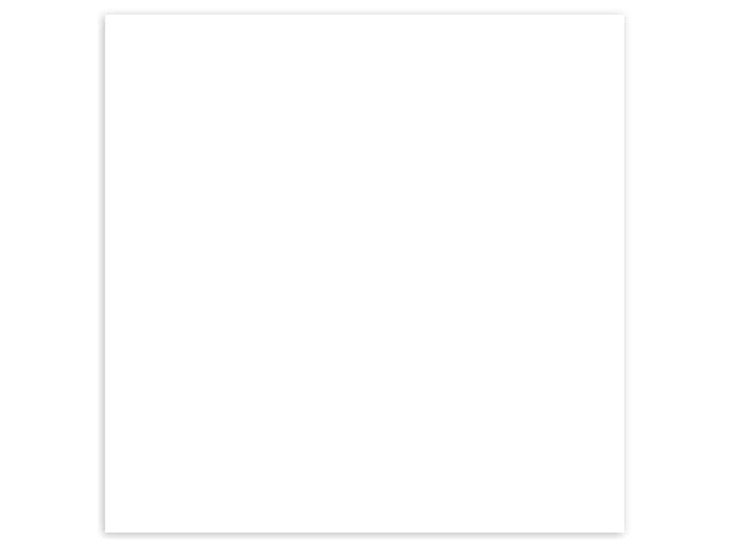 Bazzill Cardstock 12 x 12 in. Double Thick White (15 sheets)