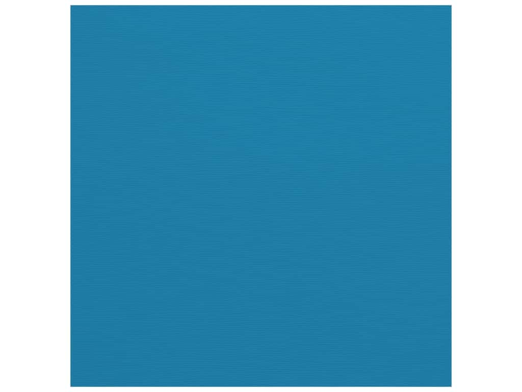 Bazzill Cardstock - 12 x 12 in. - Fourz Classic Blue (25 pieces)