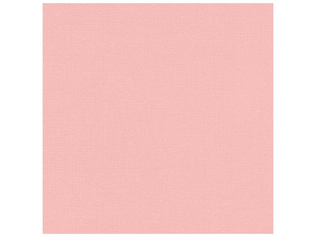 Bazzill Cardstock 12 x 12 in. Bling In the Pink (25 sheets)