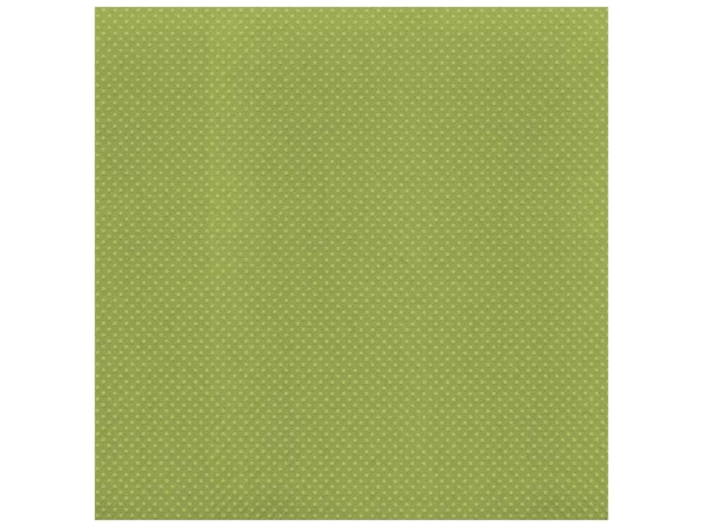 Bazzill Cardstock 12 x 12 in. Dotted Swiss Irish Eyes (25 sheets)