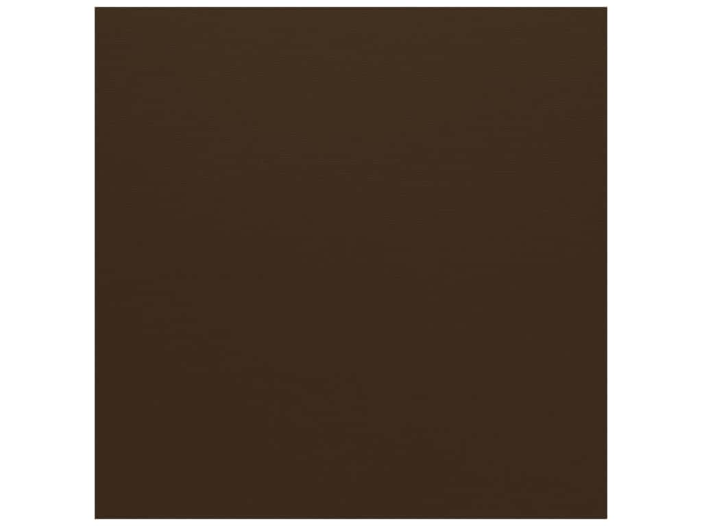 Bazzill Cardstock 12 x 12 in. Canvas Brown (25 sheets)