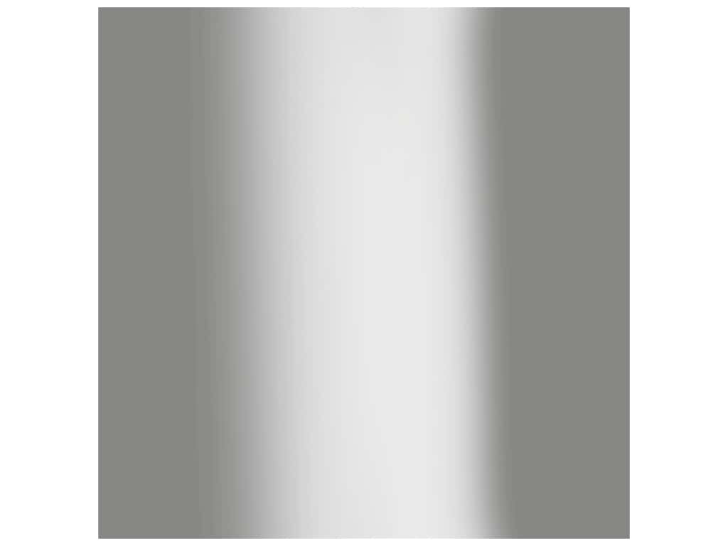 Bazzill Cardstock 12 in. x 12 in. Foil Silver (15 pieces)