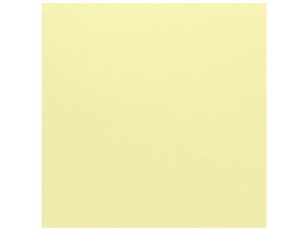 Bazzill Cardstock 12 x 12 in. Canvas Chiffon (25 sheets)