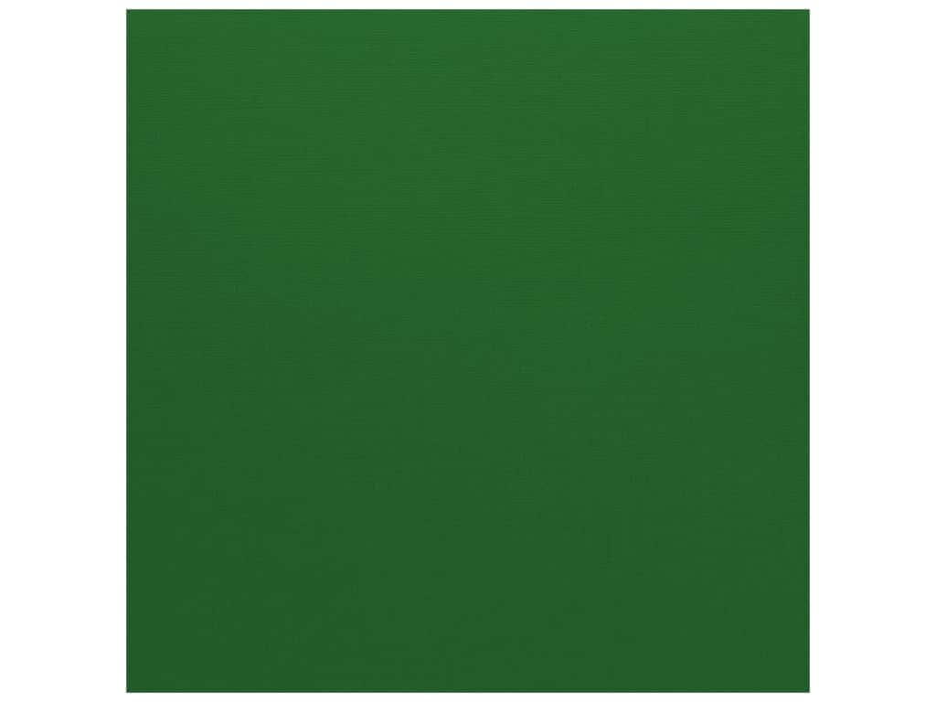 Bazzill Cardstock 12 x 12 in. Canvas Green (25 sheets)