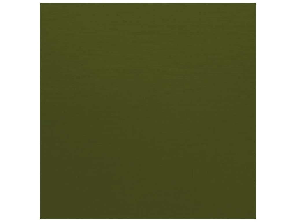 Bazzill Cardstock 12 x 12 in. Canvas Ivy (25 sheets)