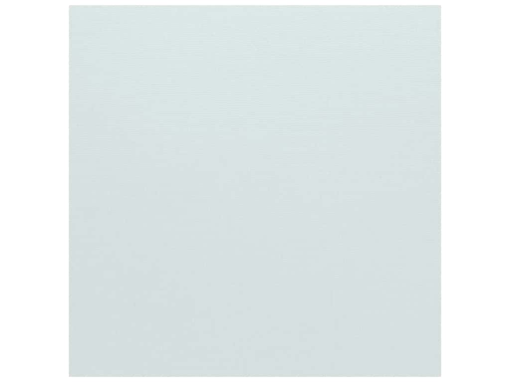 Bazzill Cardstock 12 x 12 in. Canvas Powder Blue (25 sheets)