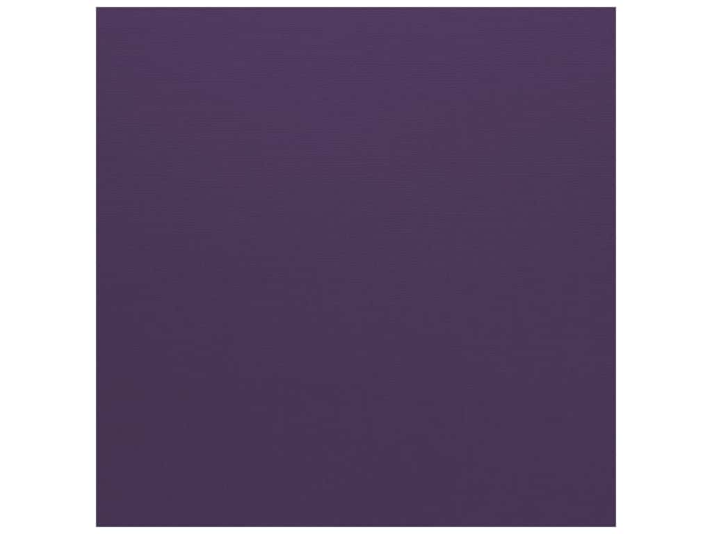 Bazzill Cardstock - 12 x 12 in. - Canvas Pansy (25 sheets)