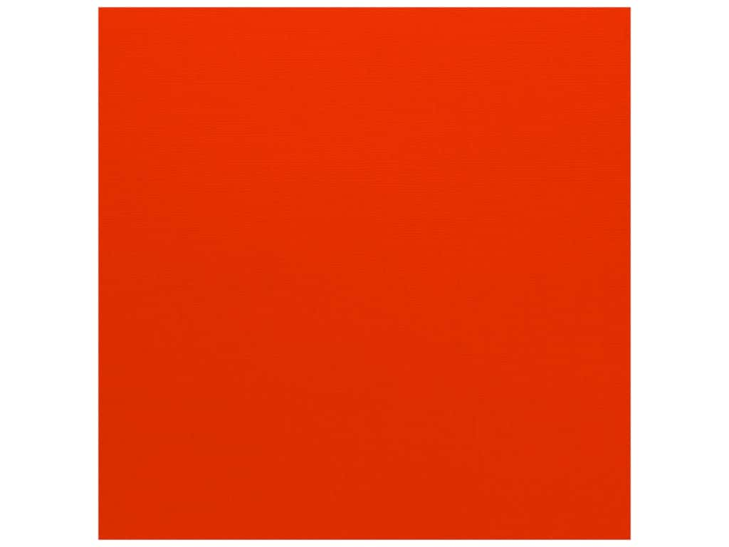 Bazzill Cardstock 12 x 12 in. Canvas Bazzill Orange (25 sheets)