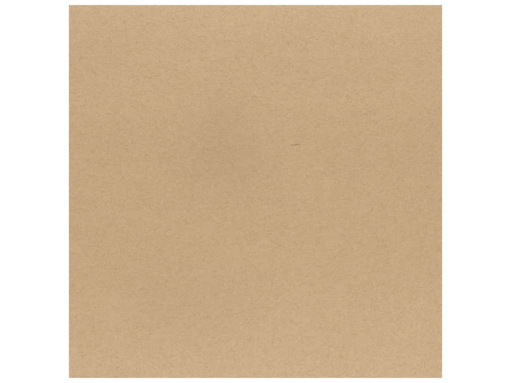 Bazzill Cardstock 12 x 12 in. Classic Kraft (25 sheets)