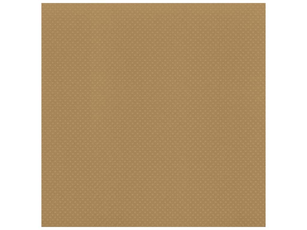 Bazzill Cardstock 12 x 12 in. Dotted Swiss Mud Puddle (25 sheets)