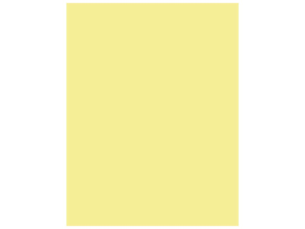 Bazzill Cardstock 8 1/2 x 11 in. Card Shoppe Sour Lemon (25 pieces)
