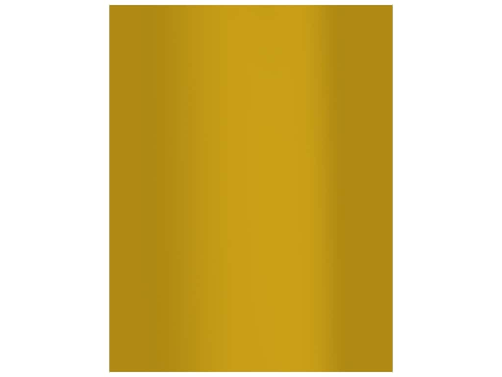Bazzill Cardstock 8.5 in. x 11 in. Foil Matte Gold (15 pieces)