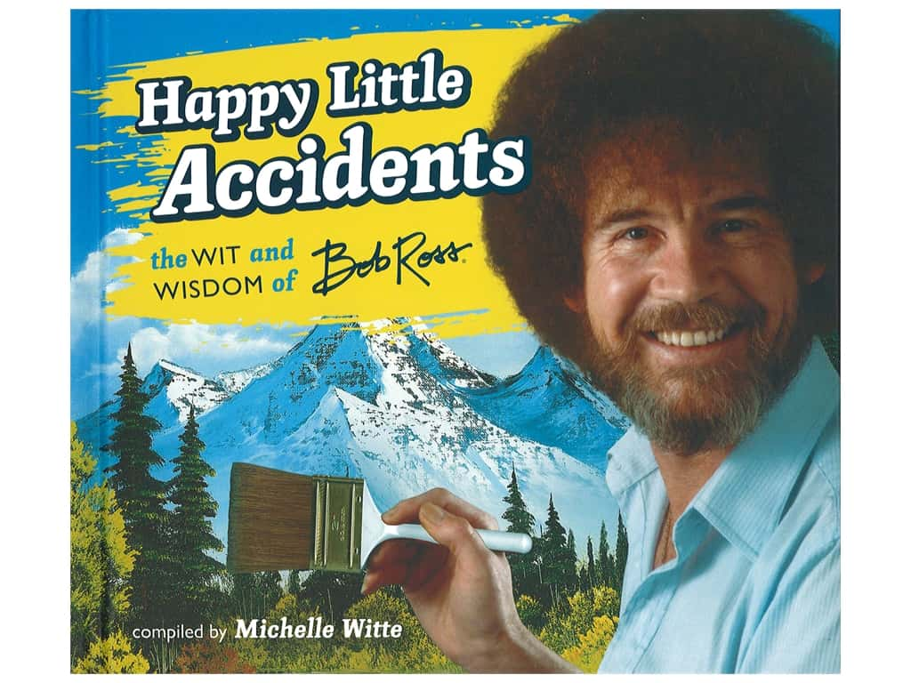 Running Press Bob Ross Happy Little Accidents Book