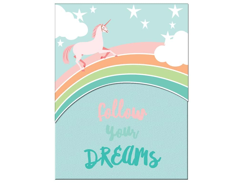 Molly & Rex Note Pocket Pad Folk Wonderland Follow Your Dreams