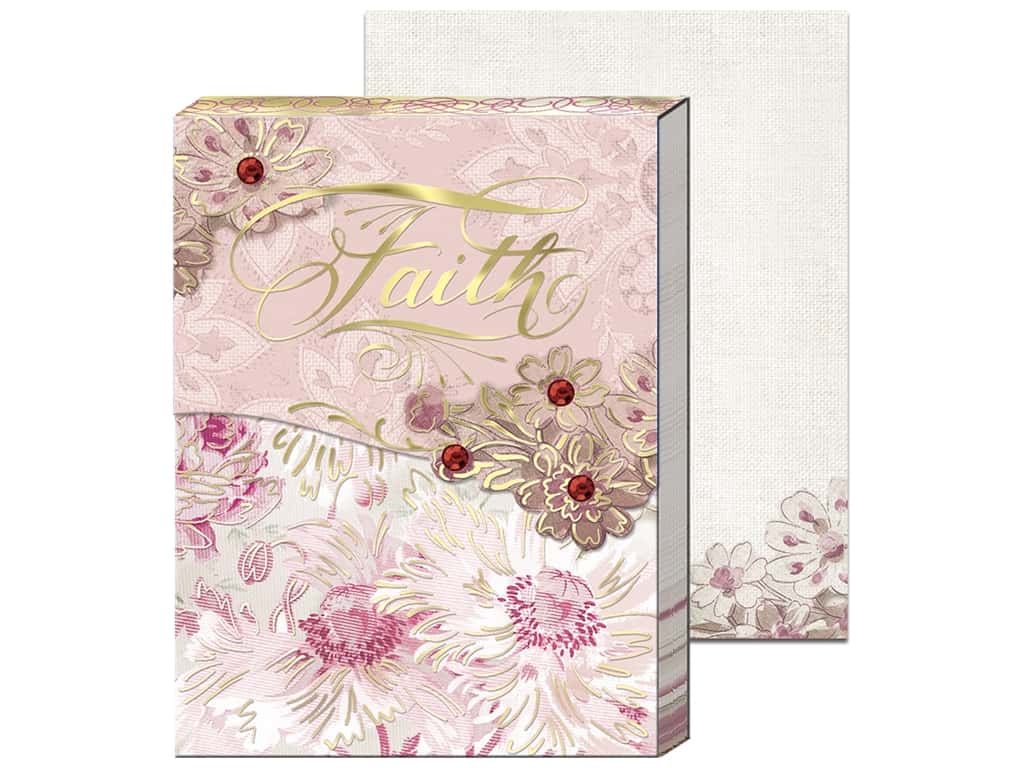 Punch Studio Note Pad Pocket Faith