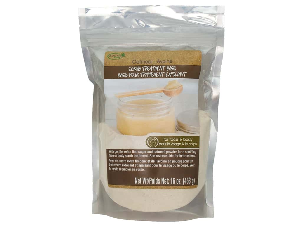 Life Of The Party Scrub Base 16 oz. Oatmeal