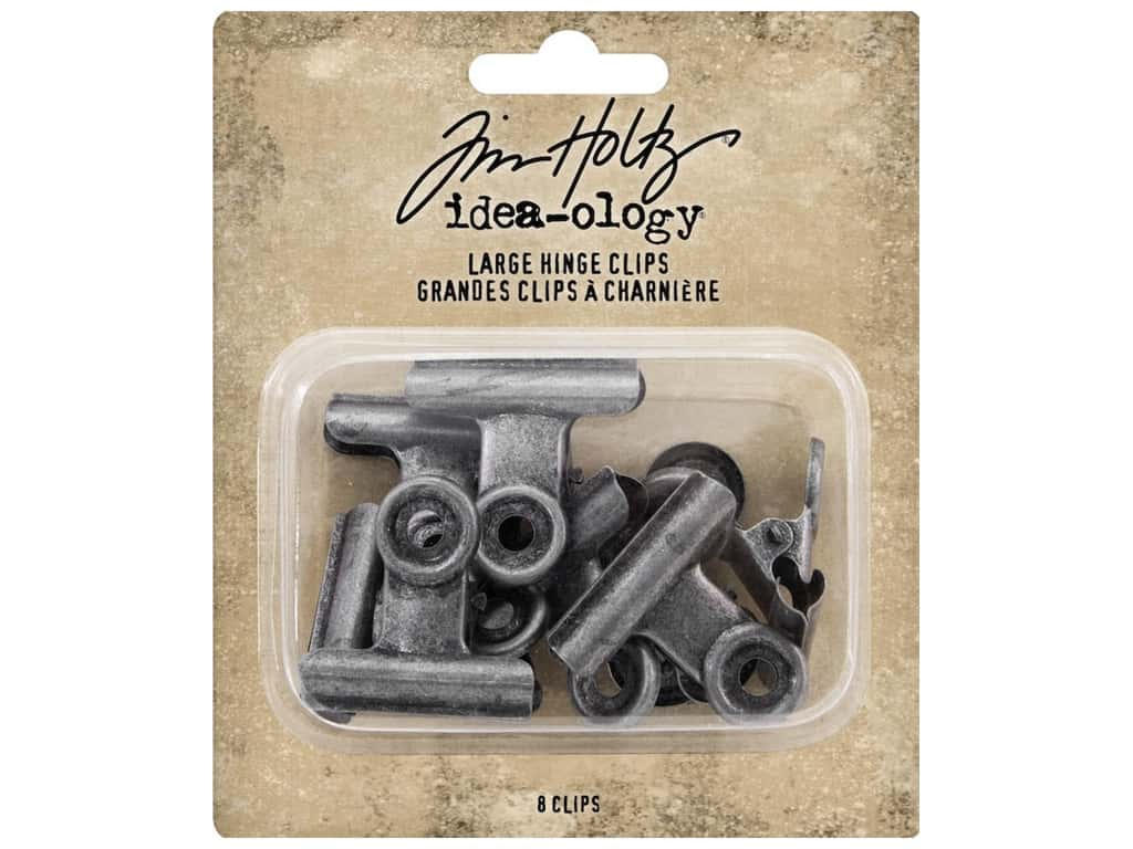 Tim Holtz Idea-ology Hinge Clips Large