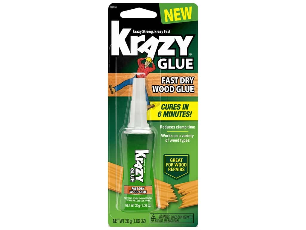 Krazy Glue Fast Dry Wood Glue 1.06 oz.