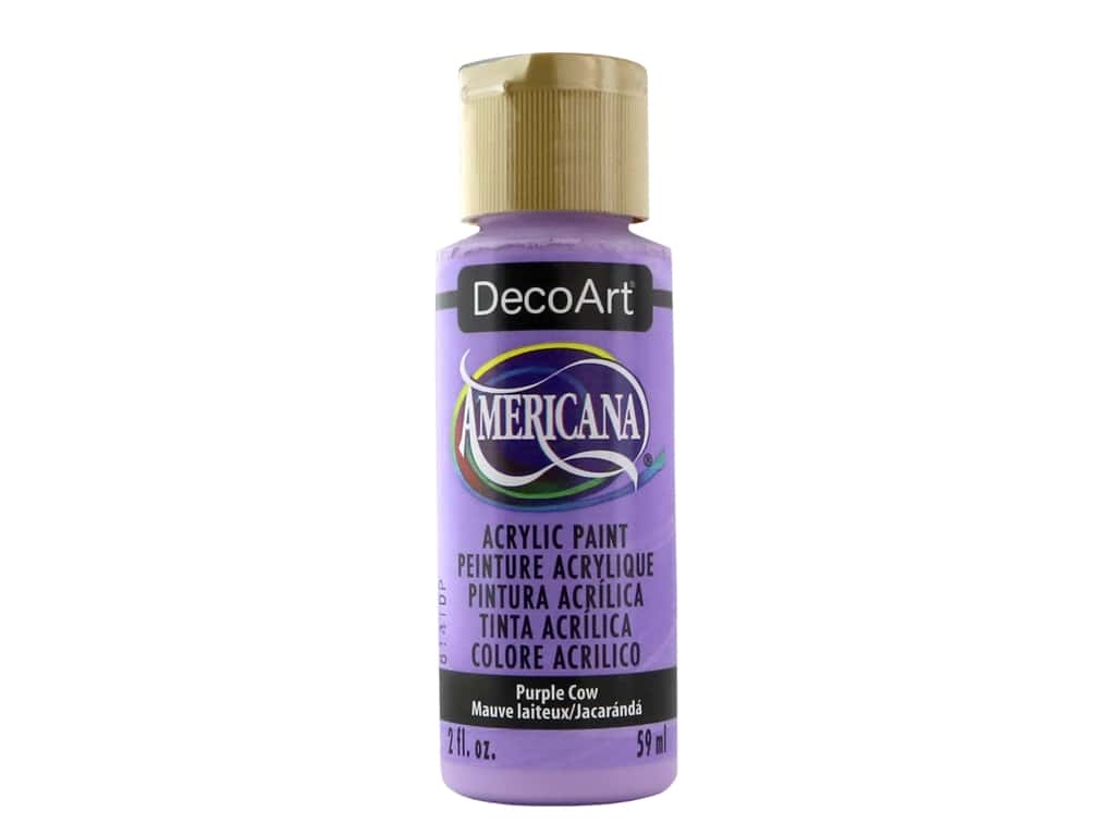 DecoArt Americana Acrylic Paint - #272 Purple Cow 2 oz.